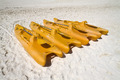 Orange Paddle Boats - PhotoDune Item for Sale