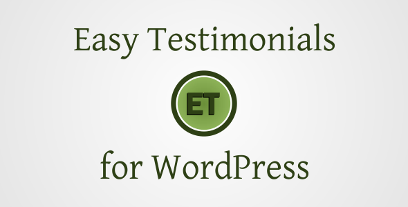 Easy Testimonials - Plugin for WordPress - CodeCanyon Item for Sale