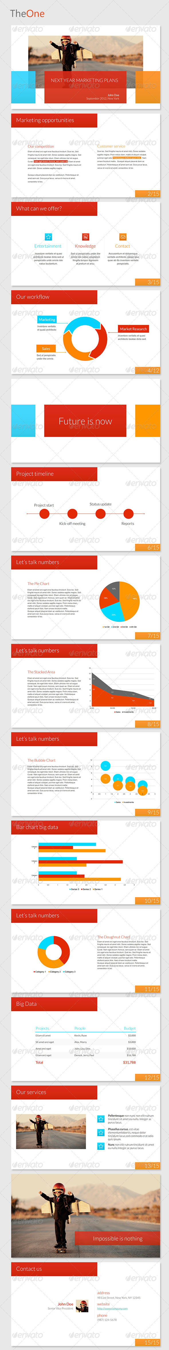 GraphicRiver TheOne Powerpoint Template 3205202