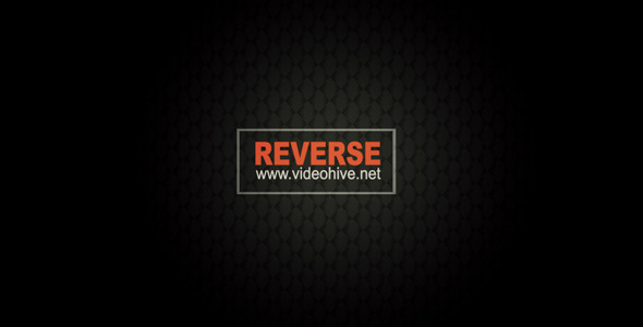 After Effects Project - VideoHive Reverse 3206053