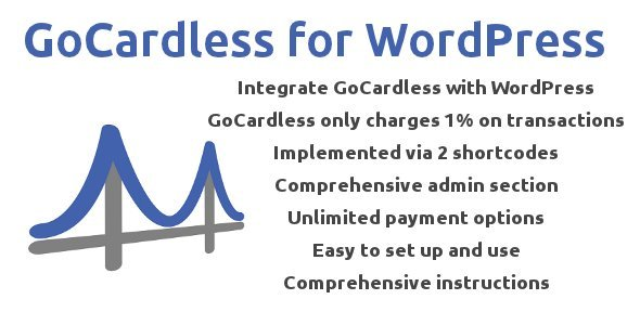 CodeCanyon GoCardless for WordPress Plugin 3207246