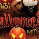 Fire Halloween Party Flyer - GraphicRiver Item for Sale