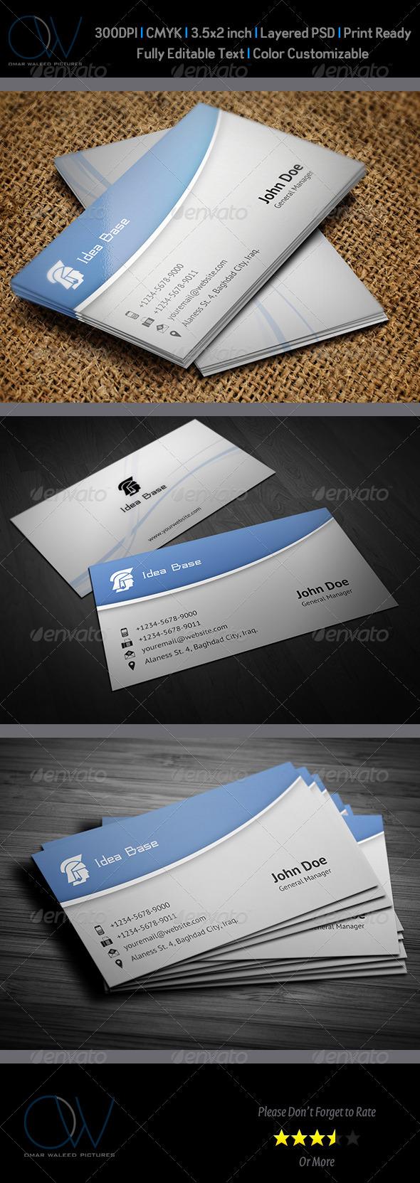 Corporate Business Card Vol.3 - Corporate Business Cards