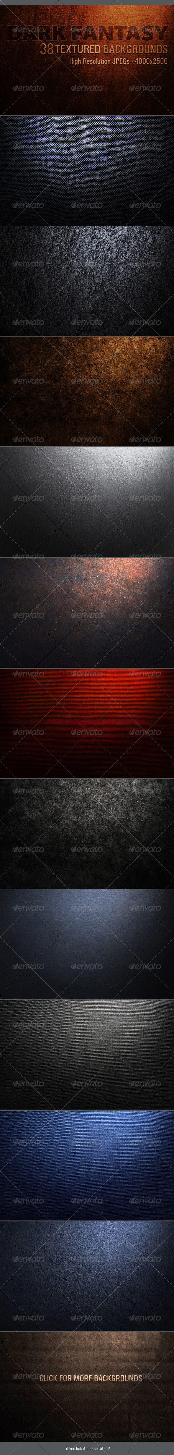 GraphicRiver 38 Textured Backgrounds 3208151