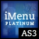 iMenu Platinum AS3 Edition - ActiveDen Item for Sale