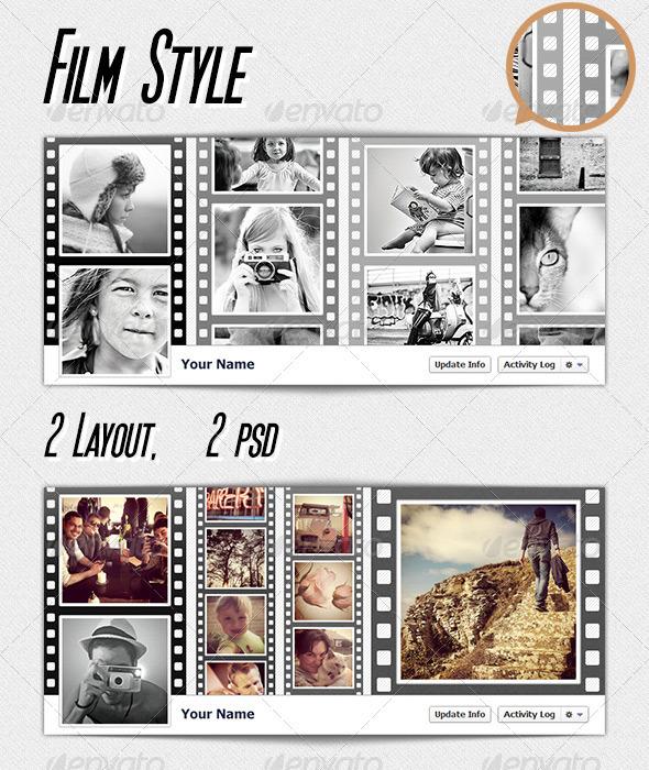 FB Cover - Film - Facebook Timeline Covers Social Media