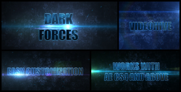 VideoHive Dark Forces 3208246