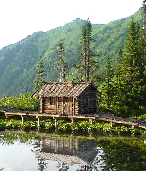 3DOcean Old wooden siberian house 113026