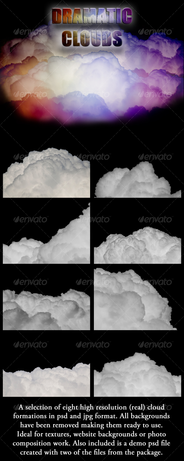 GraphicRiver Dramatic Cloud Formations 113036