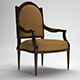 Classic Armchair with Complete Scene INCLUDED! - 3DOcean Item for Sale