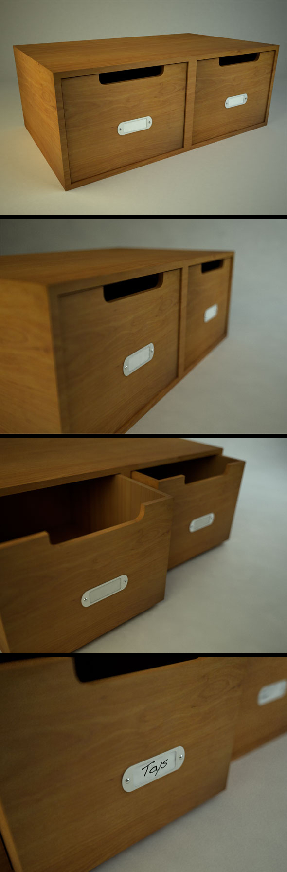 3DOcean Wooden Box 110197