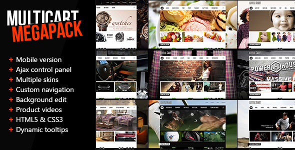 ThemeForest Multicart Premium Mobile Opencart Template 3173658