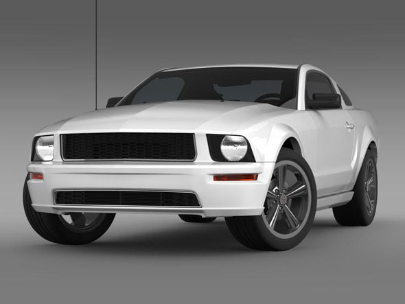 Ford Mustang Bullit 2008  - 3DOcean Item for Sale