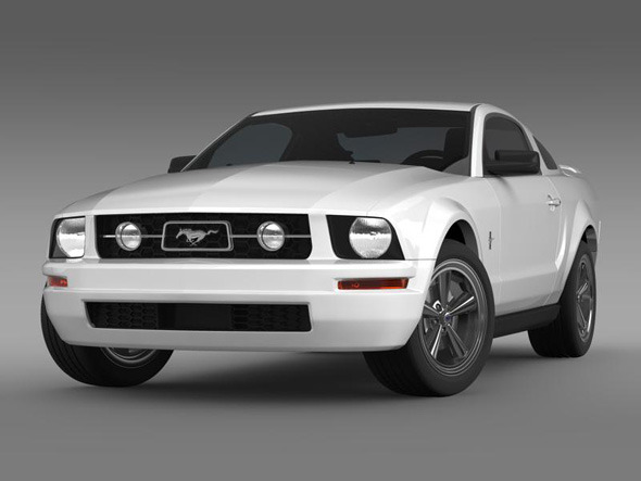 3DOcean Ford Mustang Pony 3209890
