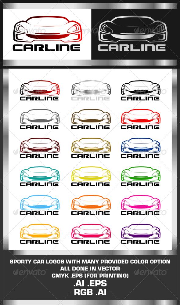 GraphicRiver CarLine Logo Template 3210255