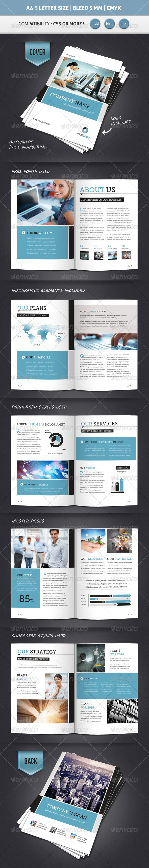 sales brochures templates - Goal.goodwinmetals.co