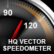 Realistic Vector Speedometers - GraphicRiver Item for Sale