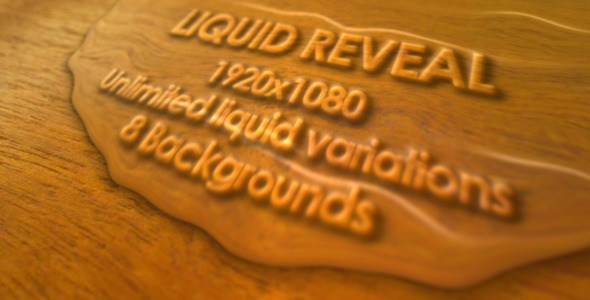 After Effects Project - VideoHive Liquid Reveal 3211322