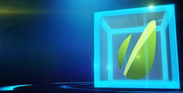 VideoHive Hi-Tech Cube 3139956