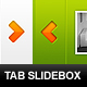 Tabbed content sliders - GraphicRiver Item for Sale