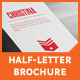 Half-Letter Business Brochure Template - GraphicRiver Item for Sale