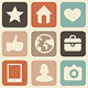 Vector seamless pattern with social media icons  - GraphicRiver Item for Sale