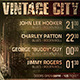 Vintage City Concert Flyer - GraphicRiver Item for Sale