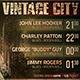 Vintage City Concert Flyer - GraphicRiver Item for Sale