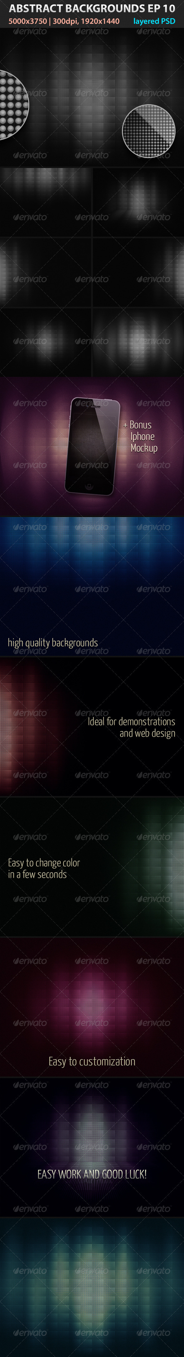 GraphicRiver Absctract Backgrounds EP 10 3213927