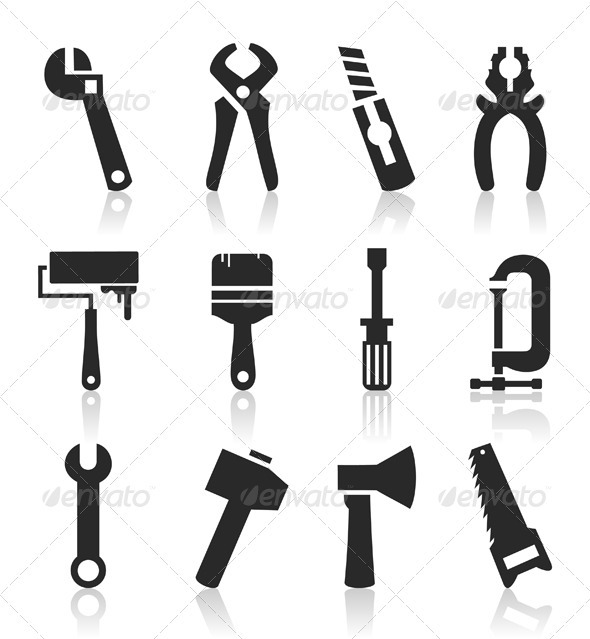 Icons of tools6 - Miscellaneous Vectors