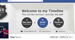 Business Card & Facebook Timeline