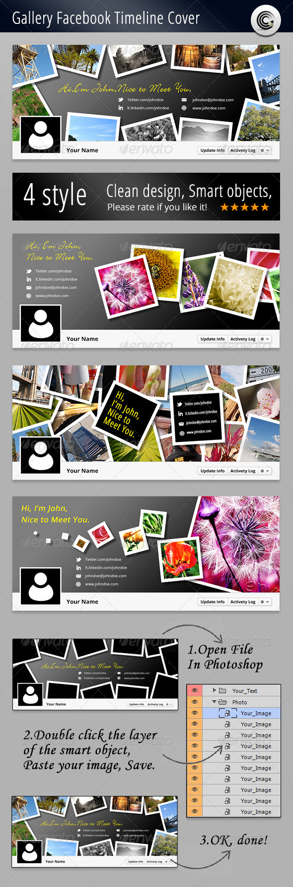 GraphicRiver Gallery FB Timeline Cover 3215450
