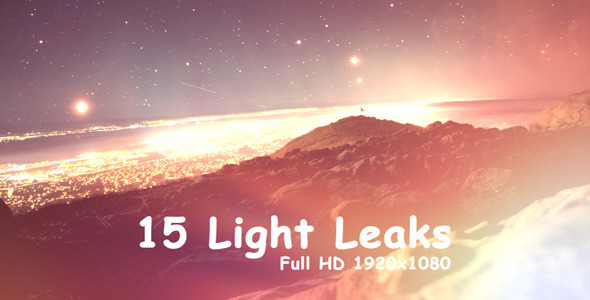 Light Leaks 15-Pack
