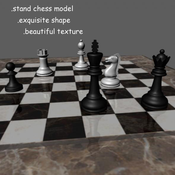 3DOcean Chess Model 3215545