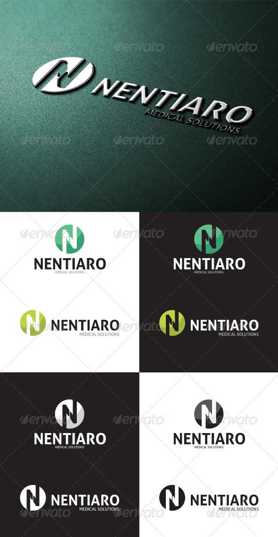 GraphicRiver Nentiaro N Letter Logo 3215550