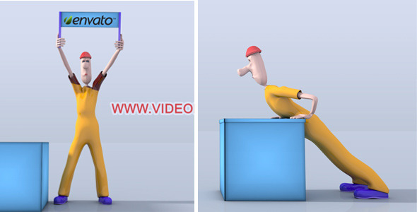 After Effects Project - VideoHive Character Animation Opener 3215827