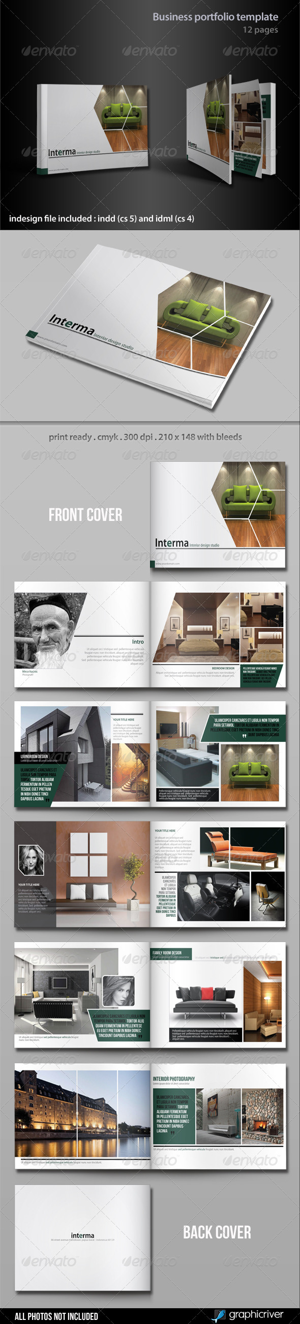 GraphicRiver Business Portfolio Template 3215829