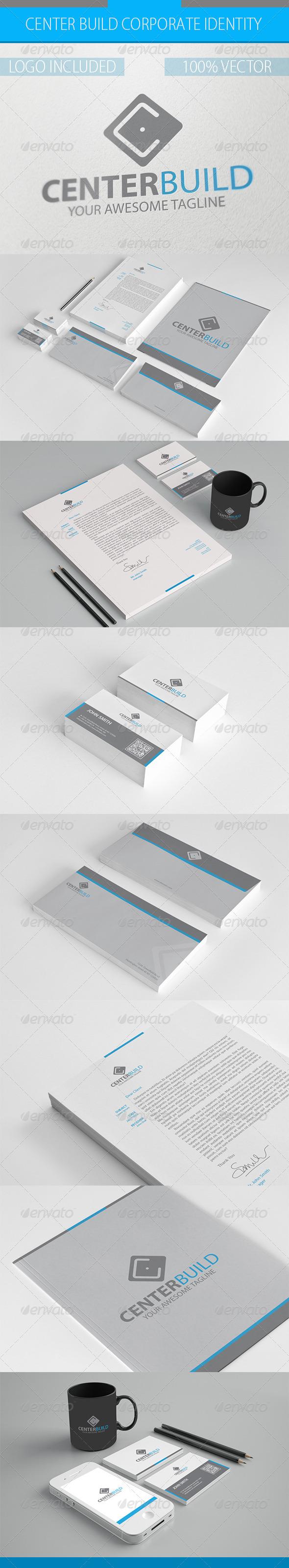 GraphicRiver Center Build Corporate Identity 3215835
