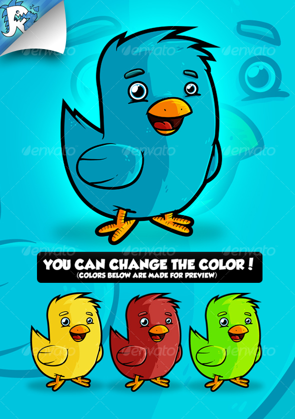 GraphicRiver Twitter Bird 111286