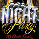 Night Party Flyer Template - GraphicRiver Item for Sale