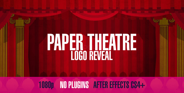 Paper Theatre Logo Reveal