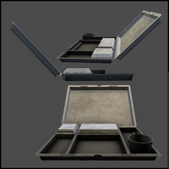 Inflight Food Package - 3DOcean Item for Sale