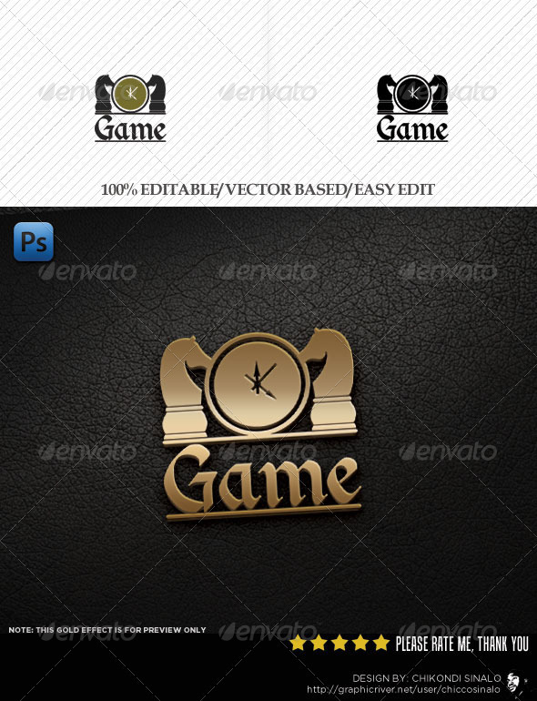 Game Session Logo Template - Abstract Logo Templates