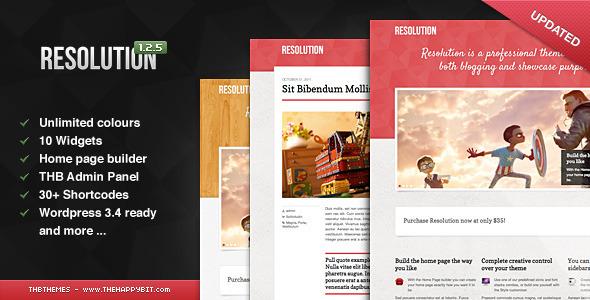 ThemeForest Resolution 835554