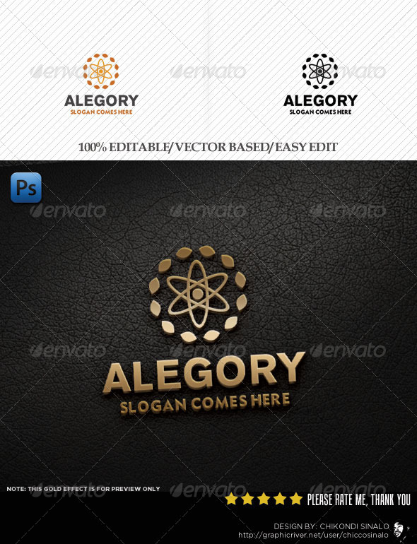 Alegory Logo Template - Abstract Logo Templates