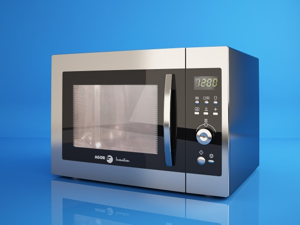 (F)agor microwave oven - 3DOcean Item for Sale