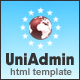 UniAdmin - гибкая, универсальная и Простота внедрения - Административные шаблоны Шаблоны сайтов