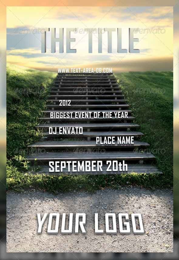 The Stairs - Multipurpose Flyer - Flyers Print Templates