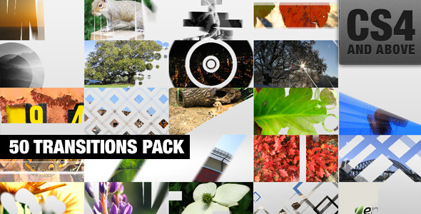VideoHive 50 Transitions Pack 3220177