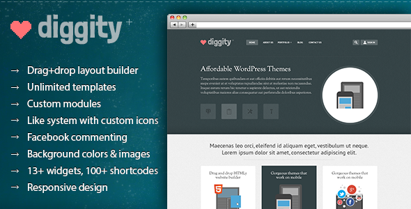 ThemeForest WP Diggity Pro Layout Builder Theme 3220226